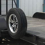SPYDER EXTRAS SPARE TIRE & MOUNT SF3-RTFTM FOR HAULING TRAILERS