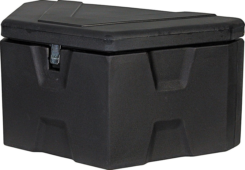 SPYDER EXTRAS TRIANGLE FRONT TONGUE STORAGE BOX SF3-RTTBX FOR HAULING TRAILERS