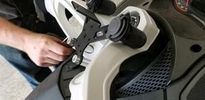 CAN-AM SPYDER 12 VOLT DOCKING STATION SST-1U12 (1-USB, 1-12 Volt)