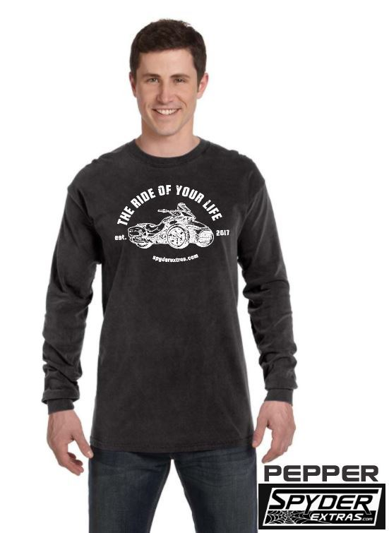 Long Sleeve Spyder Extras Ride Of Your Life F3 VERSION