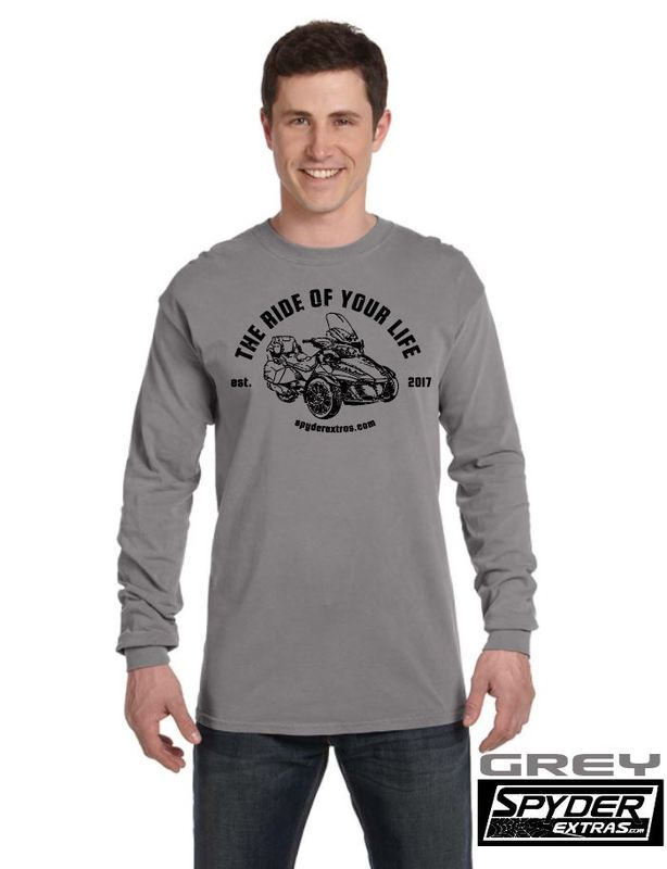 Long Sleeve Spyder Extras Ride Of Your Life RT VERSION