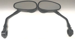 2019 Can-Am Ryker Parts & Accessories Aluminum Black Mirrors RYK-MIR-2