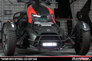 SPYDER EXTRAS RYKER FRONT GRILL GUARD LED LIGHT RYK-GRLED