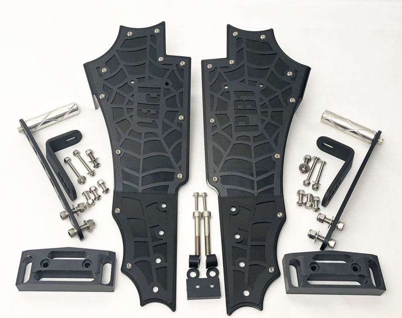 CAN-AM SPYDER F3 FRONT FLOORBOARD KIT SF3-F-FLRB