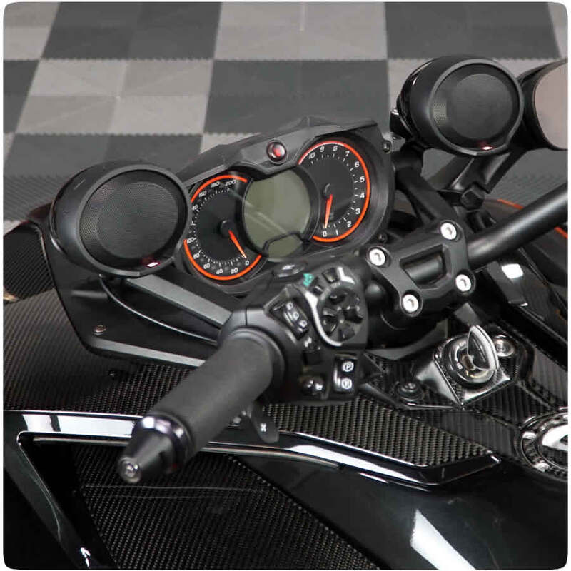 Can-Am Spyder F3 & F3S JBL Front Speaker Kit SF3-JBL-KIT
