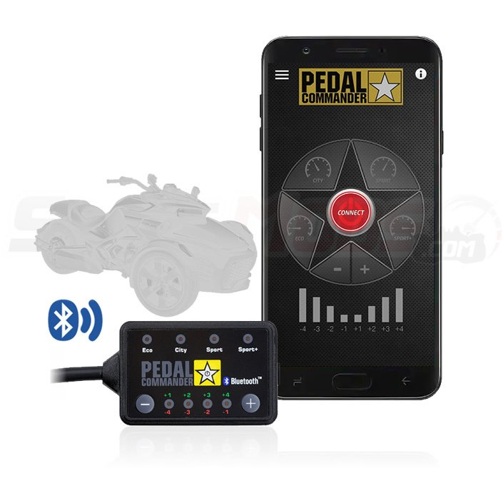 Pedal Commander Plug N Play Throttle Response Controller for the Can-Am Spyder F3 (All Years) & RT (2014+) - 1330cc Engines