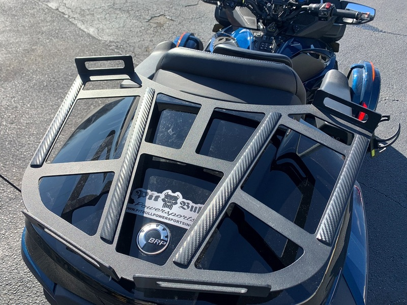 SPYDER EXTRAS REAR CARRIER RACK FOR 2020 RT & F3 LIMITED SF3RT-RK