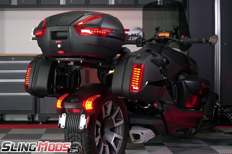 Ryker Trunk and Saddle Bag touring kit